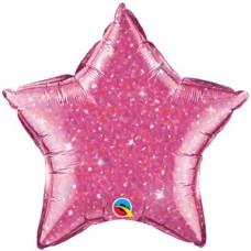 Estrella Escarchada Rosa