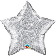 Estrella Escarchada Gris