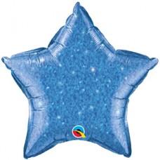 Estrella Escarchada Azul