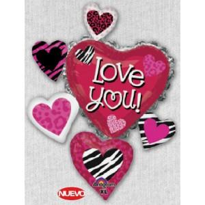 Love you corazones