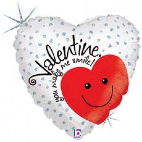 Valentine you make me smile