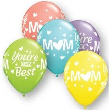 GLOBOS NO. 11 IMPRESO BEST MOM