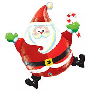 Santa Claus Brincando