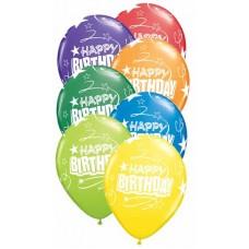 GLOBO NO. 11 IMPRESO HAPPY BIRTHDAY