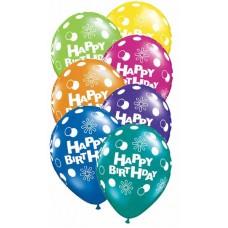 GLOBO NO. 11 HAPPY BIRTHDAY 2