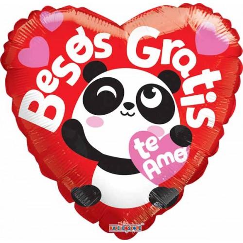 Panda besos gratis